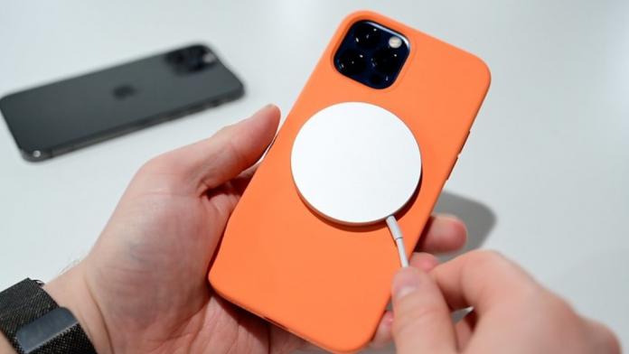 iPhone 12 wireless charging