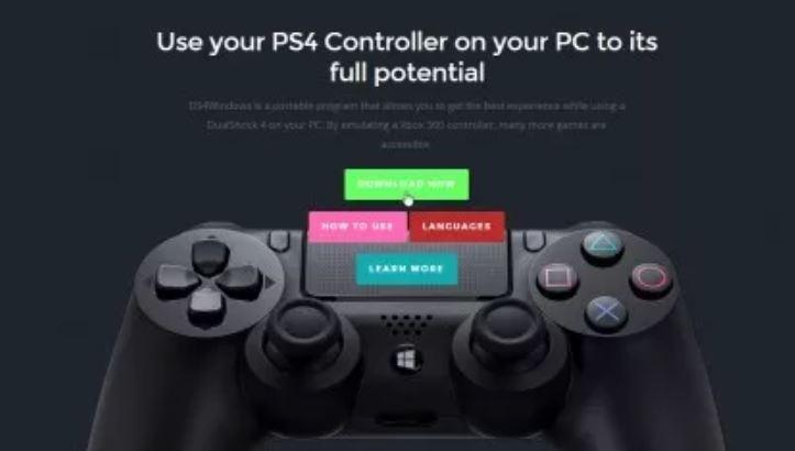 اتصال کنترلر PS4 DualShock 4 به رایانه