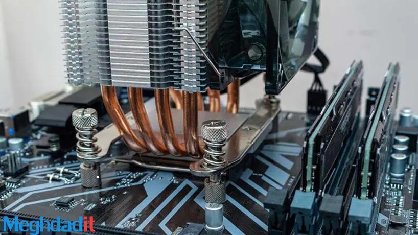 گرم شدن بیش از حد CPU