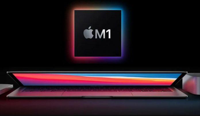 تراشه M1 اپل