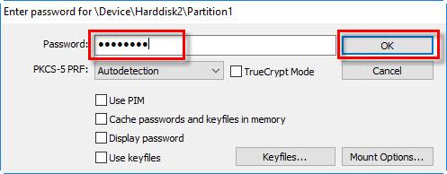 رمزگذاری هارد اکسترنال