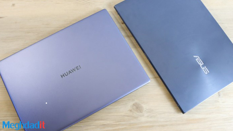 مقایسه لپ تاپ ZenBook 14 و MateBook 14