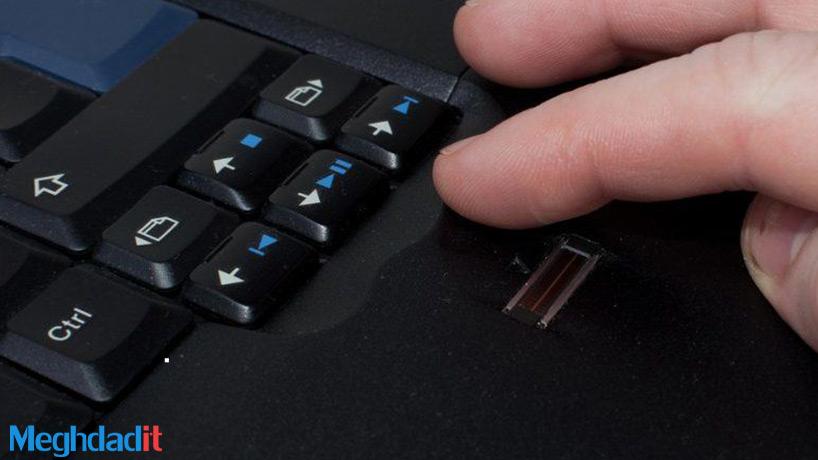 اضافه کردن حسگر اثر انگشت به کامپیوتر